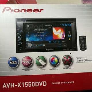 AVH-X1550DVD