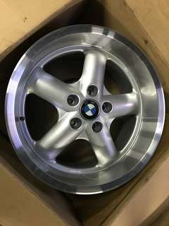 "17"" deep dish light weight rims for BMW"