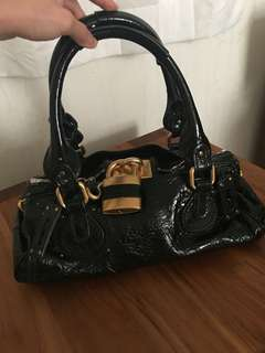 Chloe Paddington bag in patent leather