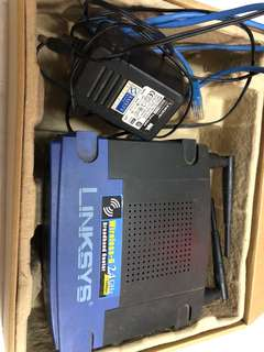 Linksys WRT54GL v1.1 router