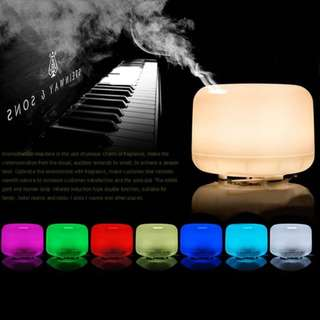 BRAND NEW!! SALE!! 600ML MUJI DESIGN AROMA ESSENTIAL OIL DIFFUSER. 7 LED Lights Mist Humidifier and Air Purifier. Free Delivery!!