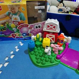 Fisher Price pop n go farmland