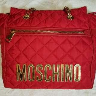Moschino Bag 菱格紋手袋