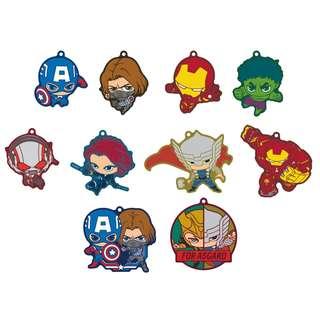 [PO] Avengers MARVEL Chara Rubber Mascot 2