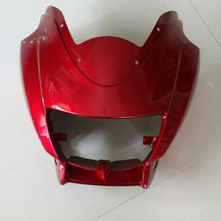Rxz Original red head cowl fairing