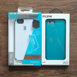 Speck MightyShell + Incipio NGP Impact Resistant Cases for iPhone 6/6s