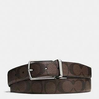 COACH MAN BELT SIGNATURE 64825