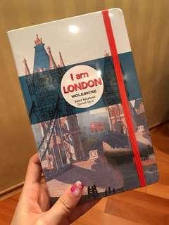 Moleskine notebook - special edition London