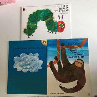 Eric Carle book: various titles