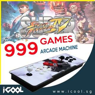 [ READY STOCK ] Arcade Games5S999games Joystick Controller Console ★ Plug Play Your Favourite Childhood Arcade