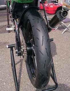 tayar DUNLOP KR410 racing track & road 90/80/17 100/70/17  semi slick like supercorsa corsa hyper sport sportrim racing sp551