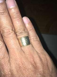 18k Saudi Gold Ring Special