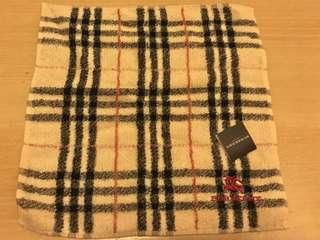 日本製 Burberry 經典格仔毛巾
