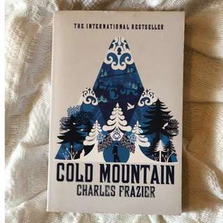 Cold Mountain by Charles Frazier paperback