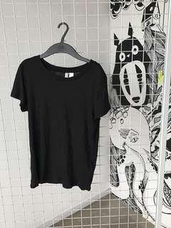 H&M Black T Shirt