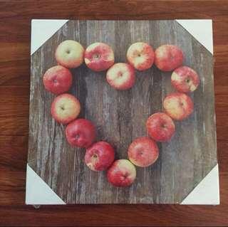 Photography Frame Apple Heart #bajet20
