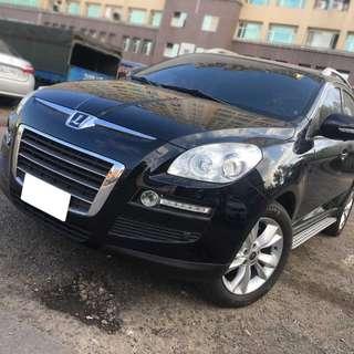 【購車無負擔‧買車夠保障】LUXGEN 2010年 U7 豪華版 2.2黑 服務實在 值得信賴