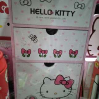 Kitty直立三抽置物櫃