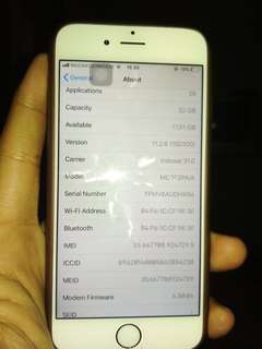 Iphone 6 32gb resmi