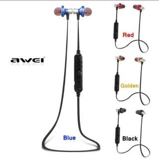 Super Bass Wireless Bluetooth Earpiece Awei A860BL