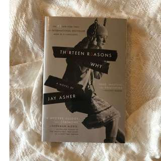 Thirteen Reasons Why by Jay Asher paperback