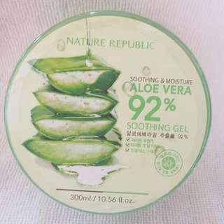 100% Authentic - soothing and moisture- aloe vera soothing gel