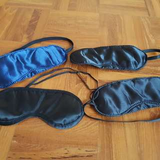 10 Blindfold Satin Eye Masks