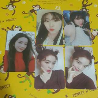 Red Velvet Irene Photocard