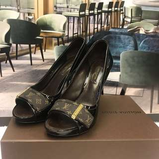 Louis Vuitton Patent High Heel