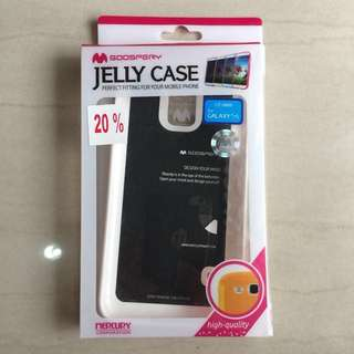 (New) Goospery Jelly Case White Samsung S5 TURUN HARGA