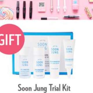 Etude House Soon Jung Trial Kit (worth $30)