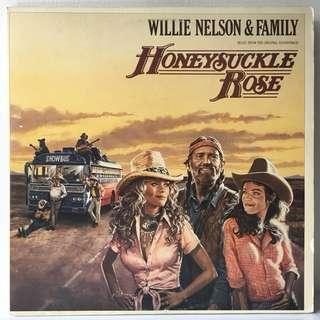 Willie Nelson & Family – Honeysuckle Rose (Music From The Original Soundtrack) (1980 USA Original 2LP in Gatefold Sleeve - Vinyl is Excellent)