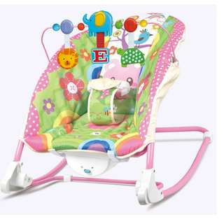 ORIGINAL I-baby infant to toddler musical vibration rocking chair AB58611 PINK