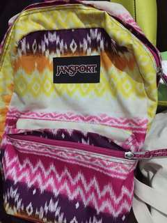 Jansport rainbow backpack ORIGINAL