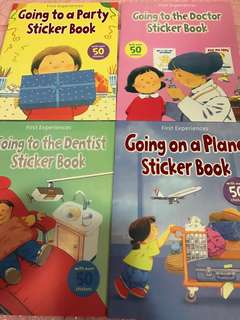 Instock kids children Book And Stickers Book Brand New