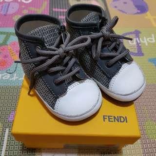 Authentic Fendi Baby Pre Walker Shoe