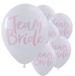Team Bride Balloons (10 pieces)
