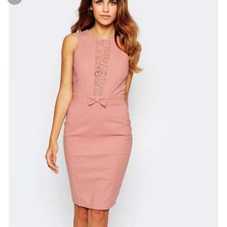 Paper doll asos sexy back dress