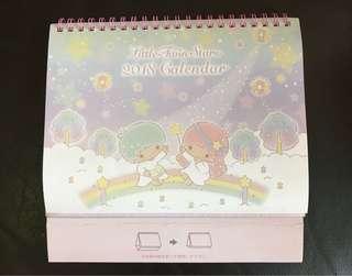 Little Twin Stars 2018 Calendar