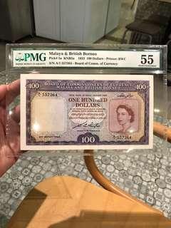 Queen Elizabeth $100