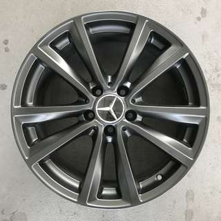 "Used 18"" Original Mercedes Rims"