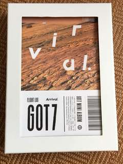 GOT7 Arrival專輯+海報