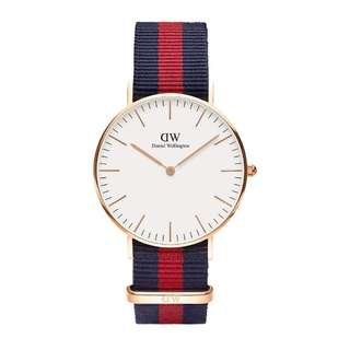 Daniel Wellington Oxford 36mm silver instock