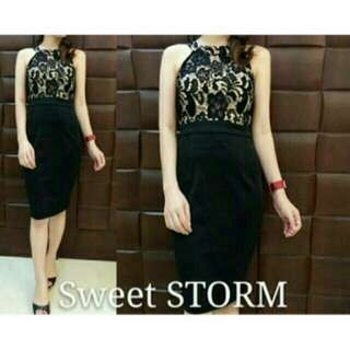 Halter neck sweet storm