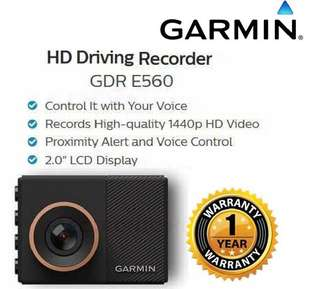 Garmin GDR E560 - GPS  Driving Recorder with Wi-Fi & Safety Features