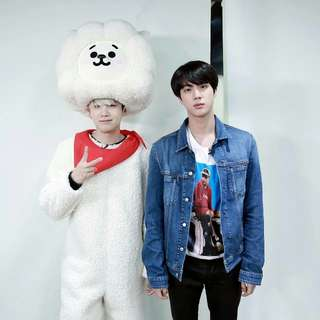 LF: Jin and Suga official merch
