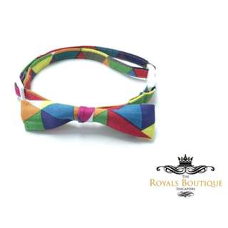 The Royals Boutique - Rain Bold Mama Collection Small Bow Collar