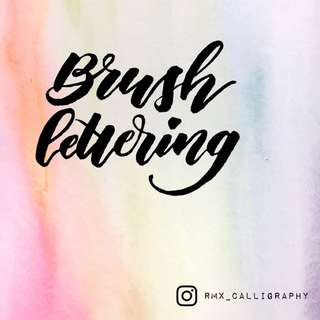 Brush Lettering | Calligraphy - Workshop