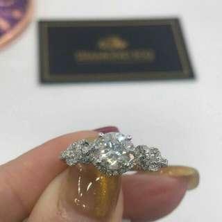 🌹求婚好推介高色高淨度鑽石💎卡裝最強D色 🌸GiA證書1.00卡D色VS2 VG EX VG NON💖