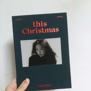 taeyeon this christmas albums 淨專